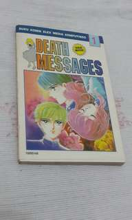 Komik Death Messages VOLUME 1 by Yoko Matsumoto