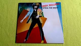 Pding CINDY BULLENS . steal the night. Vinyl record