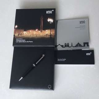 Mont Blanc Meisterstuck Special Edition Ballpoint Pen (Splendours de Paris) brand new!