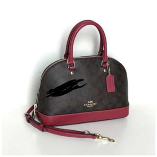 Coach mini bag authentic