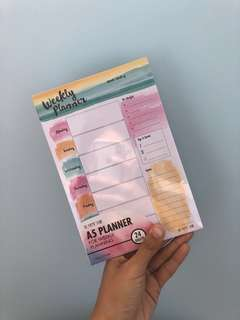 🚚 The Paper Stone Weekly Planner