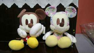 Soft Plush Toys of Mickey n Minnie 15 inches