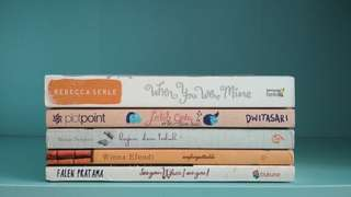Novel Unforgettable, Jatuh Cinta Diam-diam, When You Were Mine, See You When I See You, Hujan dan Teduh