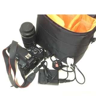 [99.9% 新 NEW] Canon EOS 750D 正常運作,超少磨損,送原裝袋加私人一支長鏡頭,想換高階相機,有單