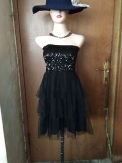 chic simple - sequin mini tube dress