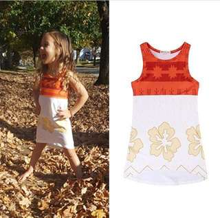 Moana dress brandnew