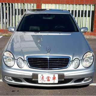 安穩當舖【流當汽車】2006年 賓士 E200K 1.8