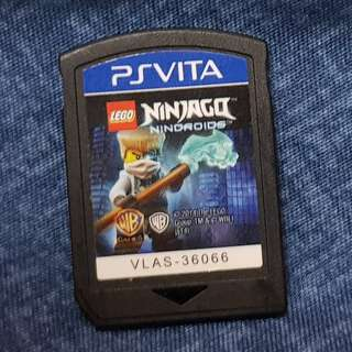 PS Vita Playstation Vita used game Ninjago Nindroids (Without case)