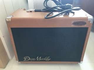 Guitar and mic amplifier - Ultrasound Dean Markley
