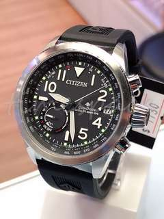CITIZEN PROMASTER Eco-Drive SATELLITE WAVE GPS CC3060-10E (光動能衛星錶)