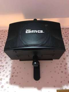 Amplifier+speaker