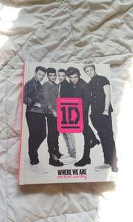[PRELOVED] ONE DIRECTION OFFICIAL BIOGRAPHY WHERE WE ARE