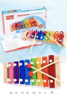 Kids Xylophone Educational Toy Wooden Musical Toy