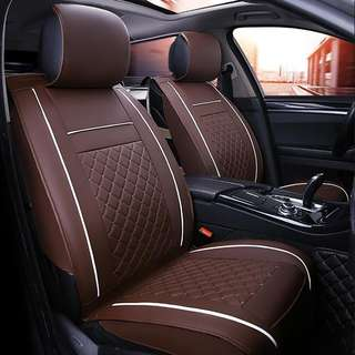 Universal PU Leather Car Seat Covers for Toyota Corolla Camry Rav4 Auris Prius