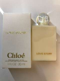 Chloe Love Story perfumed body lotion