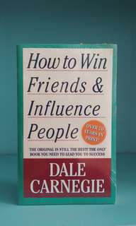 How to Win Friends & Influence People, Dale Carnegie (english)