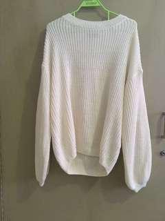 STRADIVARIUS White Knitwear