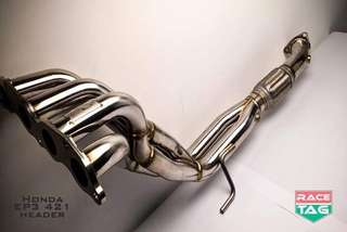 Honda Civic DC5 EP3 2.0 Exhaust Header Extractor