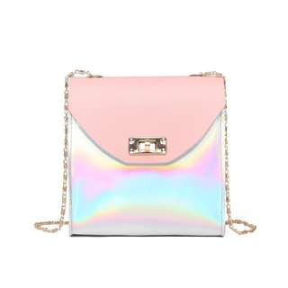 HOLOGRAM MESSENGER MINI SLING BAG