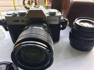 Fujifilm XT20 , lensa 18-55 dan 35 F2