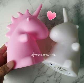 Unicorn Night Light (2 Colors: Pink + White) FREE batteries