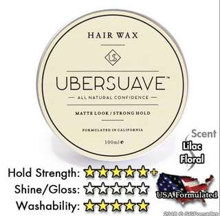 CHEAPEST Ubersuave Hair Wax Pomade V1.0 V2.0
