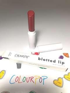 Colourpop Blotted Lippie