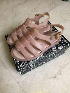 Mini Melissa original flox light pink sandals shoes