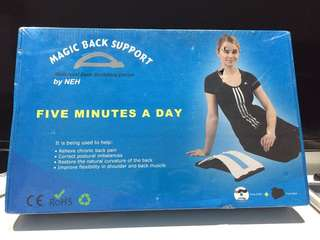 Magic back support relieve back pain, correction of posture