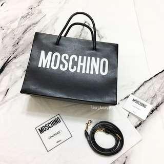 MOSCHINO Shopping Tote