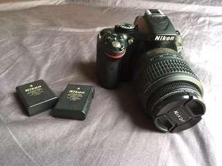 Nikon d5200+18-55mm