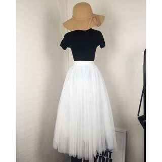 🚚 三層網紗蓬蓬裙