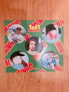 🚚 (交換/售)SHINee 1 of 1紙飛鏢 紙牌 紙卡 MinHo