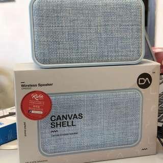 DA DM0022 Canvas Shell Wirleass Speaker 無線 擴音器