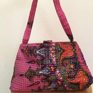 AMY CHAN NEW YORK sequinned tiled handbag