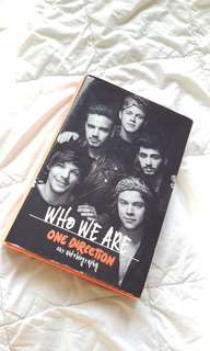[PRELOVED] ONE DIRECTION AUTOBIOGRAPHY WHO WE ARE
