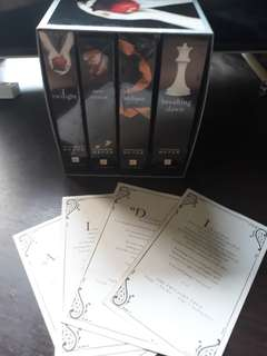 TWILIGHT SET including FOUR FULL-COLOR COLLECTIBLE PRINTS