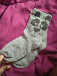 Panda bear kids socks