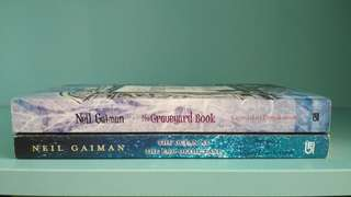 Novel terjemahan Neil Gaiman The Graveyard Book & The Ocean at the End of the Lane