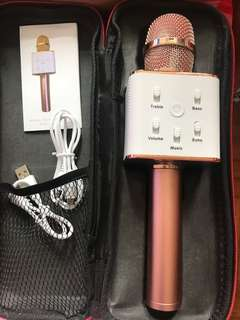 Bluetooth Microphone - Rose Gold