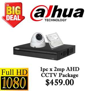 Dahua 1080P AHD CCTV Package 1 =)