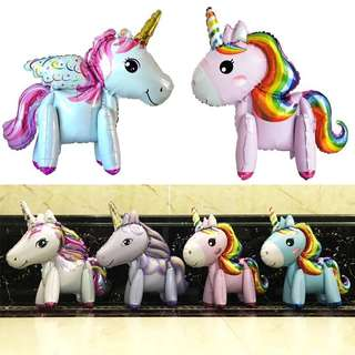 Unicorn party supplies - Unicorn balloons / party deco