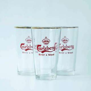 Carlsberg Beer Glass