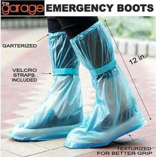 Emergency Boots, Emergency Shoe Cover, Rain Boots, Botas, flodable shoe cover