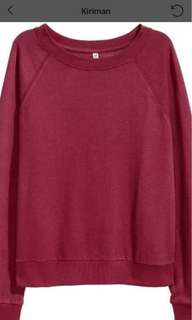 Divided by h&m Sweatshirt - red.