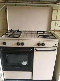 Oven gas stove
