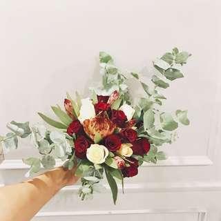Bridal Bouquet (fresh flowers)