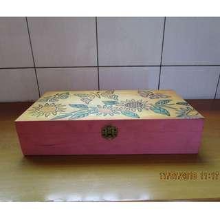 手繪木盒 / 盒子