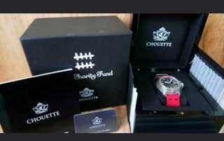 CHOUETTE 何韻詩HOCC限量版紀念手錶