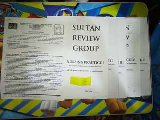 SRG July 2012 Reviewer Nursing Practice 1-5